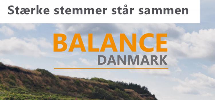 Danmark på Vippen bliver til Balance Danmark